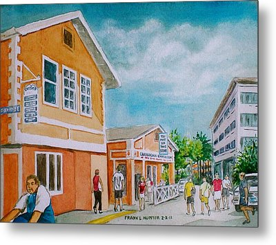 Georgetown Grand Cayman Metal Print