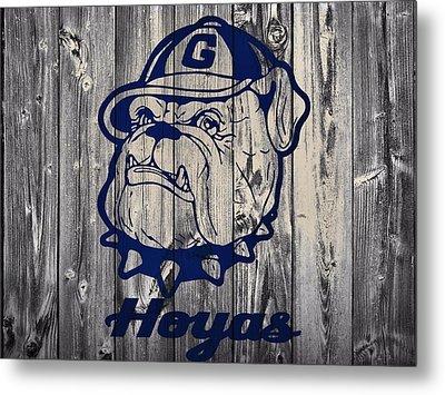 Georgetown Hoyas Barn Metal Print by Dan Sproul