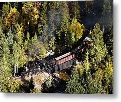 Georgetown Loop Railroad Metal Print