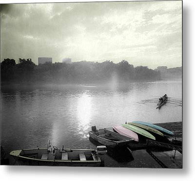 Georgetown Waterfront Metal Print