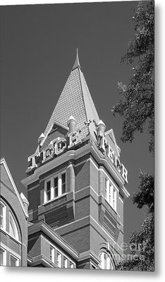 Georgia Institute Of Technology Evans Administration Building Metal Print by University Icons