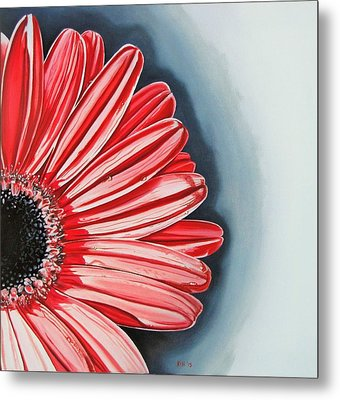 Gerber Daisy 2 Metal Print by Kevin F Heuman