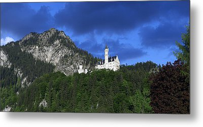 German Castle Metal Print by Hans Engbers
