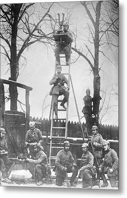 German Field Observers Metal Print