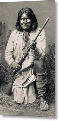 Geronimo - 1886 Metal Print