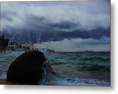 Metal Print featuring the photograph Get Splashed by Sean Sarsfield