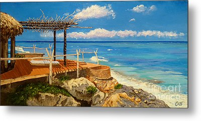 Metal Print featuring the painting Getaway by Chad Berglund