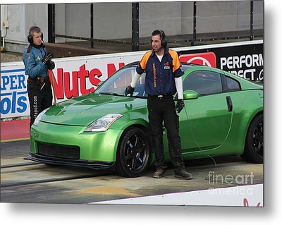 Getting Ready To Race Metal Print