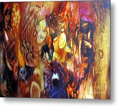Getting Visceral #2 Metal Print