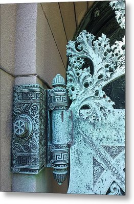 Getty Tomb Detail Metal Print