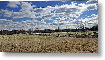Gettysburg Battlefield - Pennsylvania Metal Print by Brendan Reals
