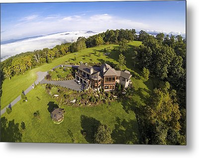Gh - Aerial 1 Metal Print by Carl Amoth