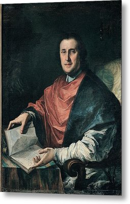 Ghedini Giuseppe Antonio, Portrait Metal Print by Everett
