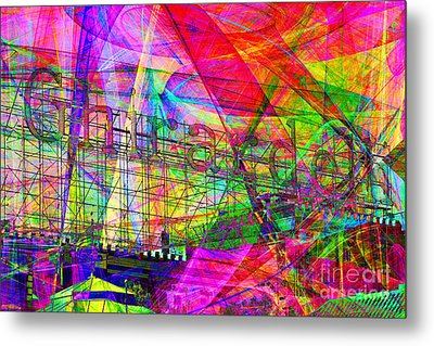 Ghirardelli 7d13979 Metal Print by Wingsdomain Art and Photography