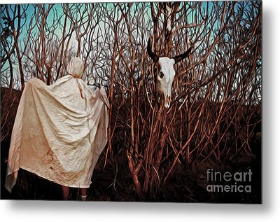 Ghost Attack Metal Print by Gregory Dyer