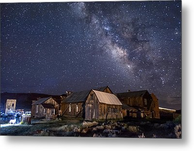 Ghost Dog At Bodie Metal Print by Cat Connor