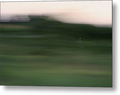 Metal Print featuring the photograph Ghost Flight - Motion Art Print by Jane Eleanor Nicholas