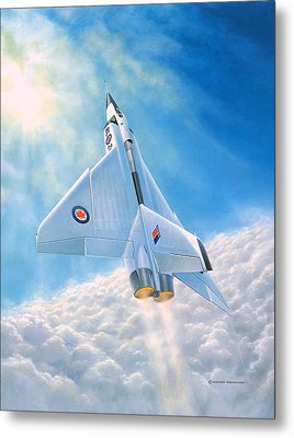 Ghost Flight Rl206 Metal Print