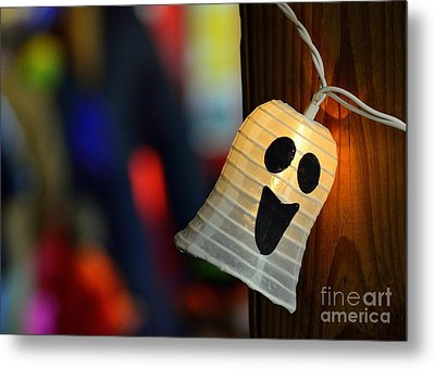 Metal Print featuring the photograph Ghost Light by Lisa L Silva
