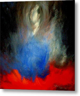 Metal Print featuring the painting Ghost by Lisa Kaiser