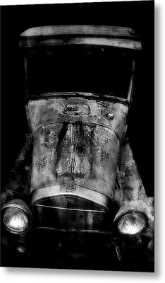 Classic Car Metal Print featuring the photograph Ghost Of 1929 by Aaron Berg