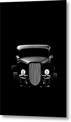 Classic Car Metal Print featuring the photograph Ghost Of '36 by Aaron Berg