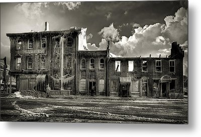 Ghost Of Our Town Metal Print