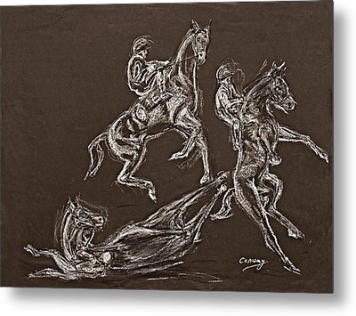 Ghost Riders In The Sky Metal Print by Tom Conway
