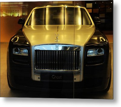 Rolls Royce Ghost Metal Print