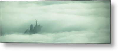 Ghost Ship Metal Print by R J Ruppenthal