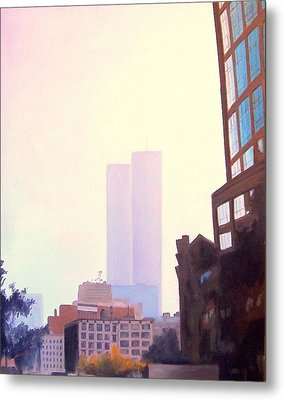 Ghost Towers Metal Print by Richard Weinberger