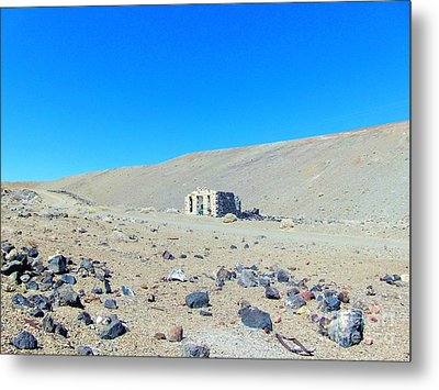 Ghost Town Candelaria 7 Metal Print