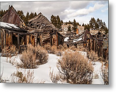 Ghost Town Metal Print by Sue Smith