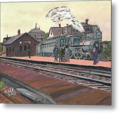 Ghost Train Metal Print by Cliff Wilson