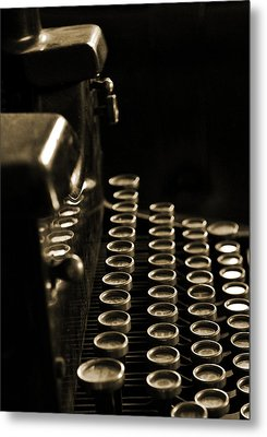 Ghost Writer Metal Print by Everett Bowers