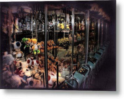 Ghosts Of The Arcades - The Toys Come Out At Night To Play Metal Print by Doc Braham