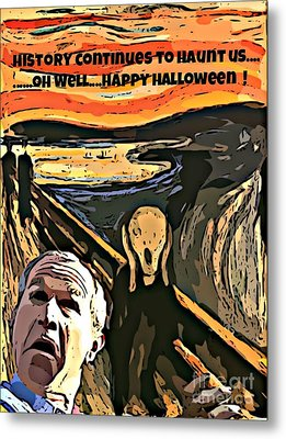 Ghosts Of The Past Metal Print by John Malone