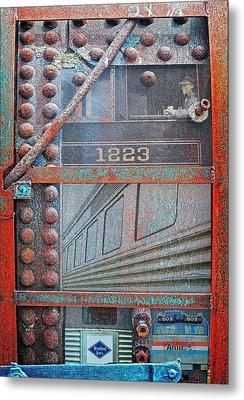 Ghosts Of The Railroad Metal Print by Joseph J Stevens