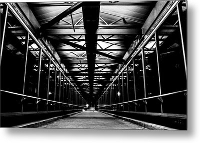 Metal Print featuring the photograph Ghostwalk by Rhys Arithson
