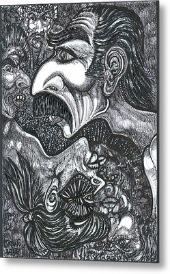 Giacomo And Friends Metal Print by Giovanni Caputo