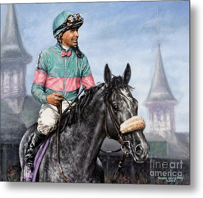 Giacomo At Churchill Metal Print by Thomas Allen Pauly