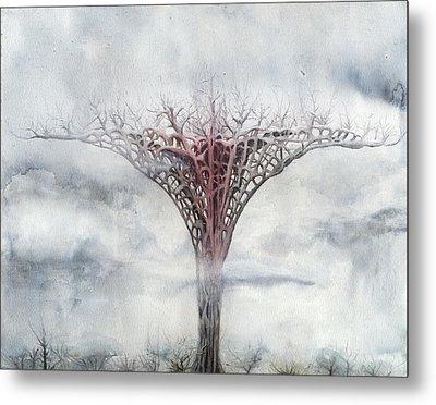 Giant Plant Metal Print by Bjorn Eek