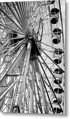 Giant Wheel Metal Print