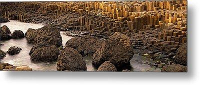 Giants Causeway, Antrim Coast, Northern Metal Print by Panoramic Images