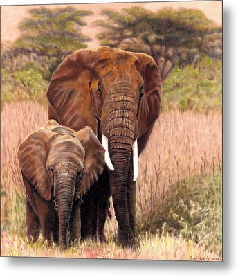 Giants Of Kenya Metal Print