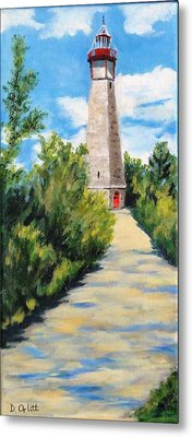 Gibraltar Point Lighthouse Metal Print by Diane Arlitt