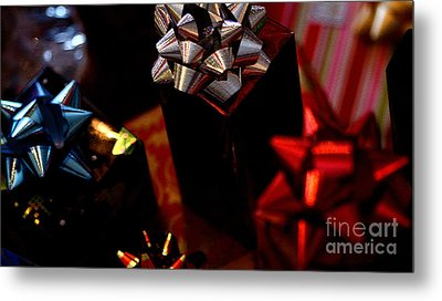Metal Print featuring the photograph Gifts by Linda Shafer