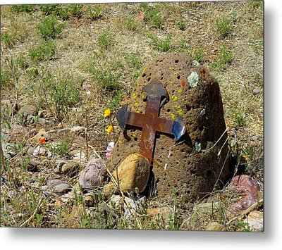Gila Grave Metal Print by Feva  Fotos