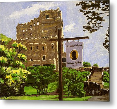 Gillette Castle East Haddam Connecticut Metal Print by Christine Hopkins