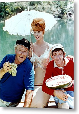 Gilligan's Island  Metal Print by Silver Screen